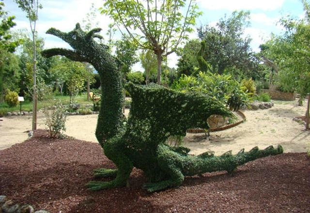 Dragón de El bosque encantado - Destino y Sabor