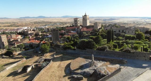 Vista panorámica de Trujillo - Destino y Sabor - Cortería Turismo Extremadura