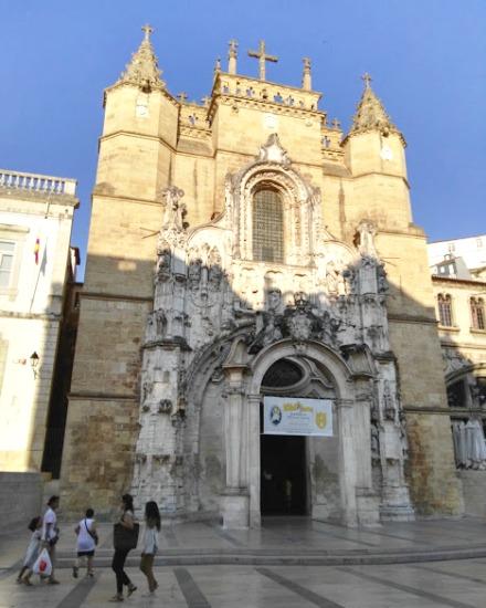 Iglesia de Santa Cruz de Coimbra - Destino y Sabor
