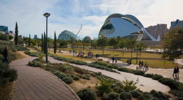 Ciudad de las Artes y las Ciencas de Valencia - Imagen de edukavital