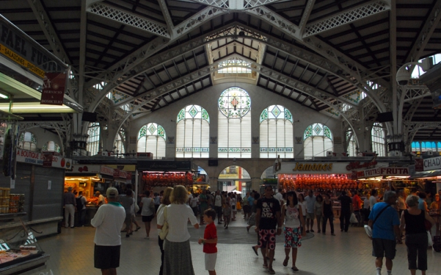 Mercado de abastos de Valencia - Imagen de fotocommunity.com