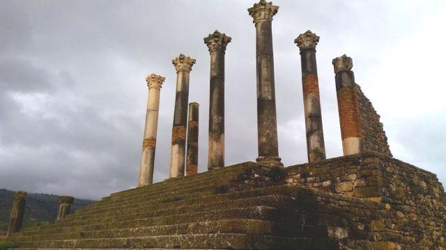 Templo de Júpiter en Volubilis - Destino y Sabor
