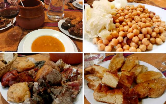 Festín gastronómico en el Cocidoday 2017 en el mesón Maryobeli - Destino y Sabor