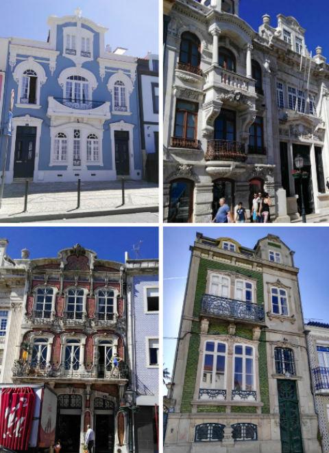 Casas modernistas de Aveiro - Destino y Sabor