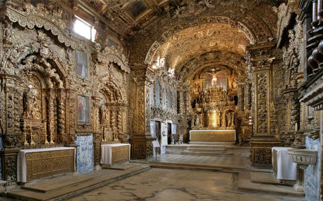 Interior barroco del Museo de Aveiro - Imagen de CenterOfPortugal