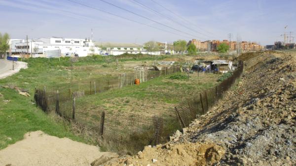 Parque Europa antes de su construcción - Imagen de la web del Parque Europa