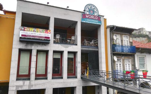 Fachada del Museo World of Discoveries - Destino y Sabor