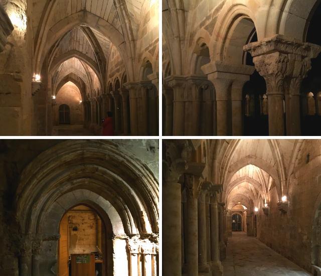 Claustro del Monasterio de Santa María La Real de Aguilar de Campoo - Destino y Sabor