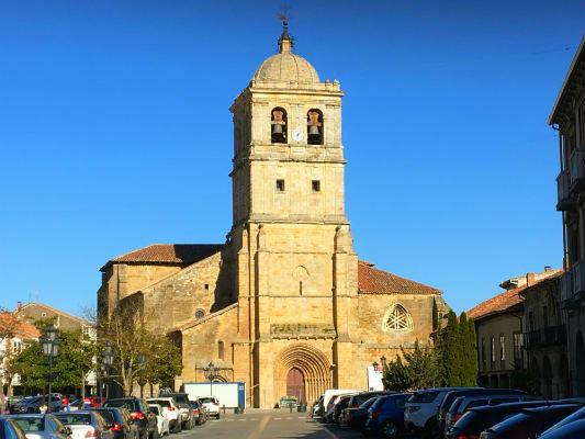 Iglesia Colegiata de Santa Cecilia de Aguilar de Campoo - Destino y Sabor