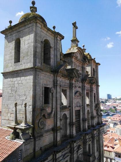 Fachada de la Iglesia Monasterio de los Jesuitas, más conocida como de los Grillos - Destino y Sabor