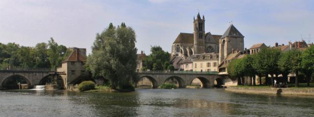 Paisaje de Moret-sur-Loing