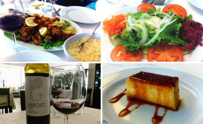 Menú del Restaurante O Tachino da Te de Tabuaço - Destino y Sabor