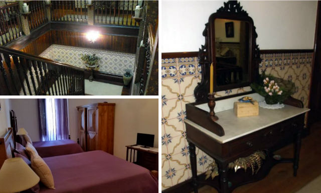 Interior del Hotel Casa Do Brasao - Destino y Sabor