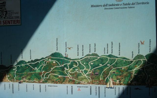 Red de senderos que transitan por el Parque Nacional de Cinque Terre - Destino y Sabor