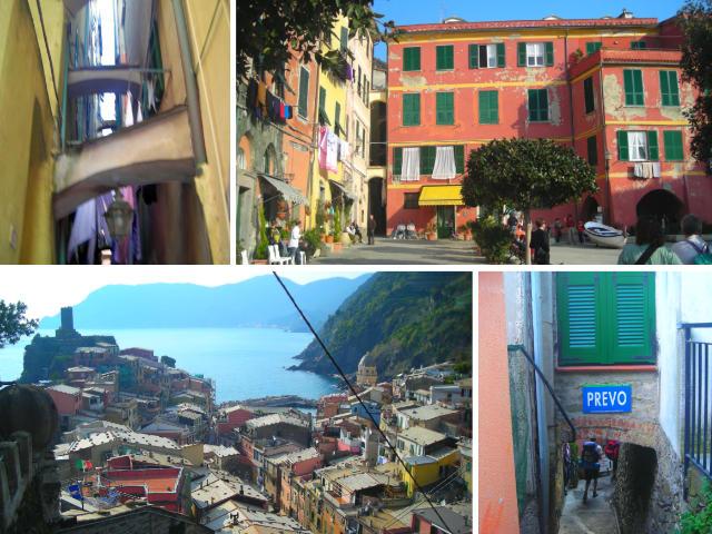 Vistas de Vernazza - Destino y Sabor