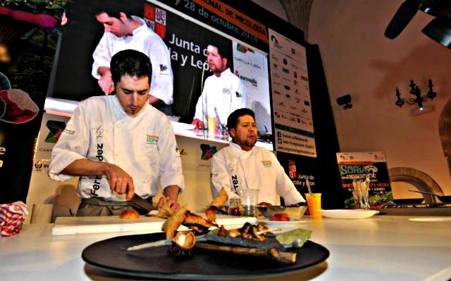 """Capital internacional de la trufa"""" title=""""Participantes en el Congreso de Soria Gastronomica en otras ediciones"""