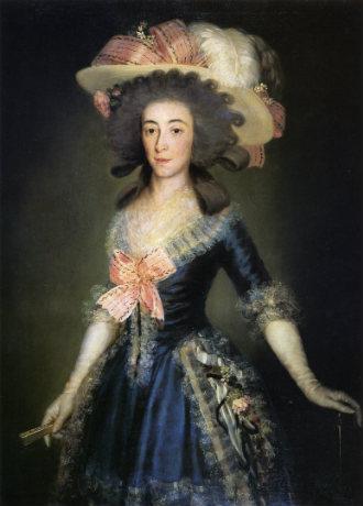 María Josefa Pimentel, duquesa de Osuna, pintada por Goya - Imagen de Wikipedia