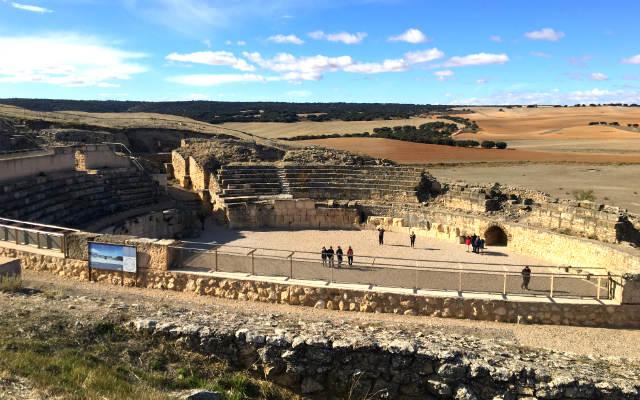 Anfiteatro romano de Segóbriga - Destino y Sabor