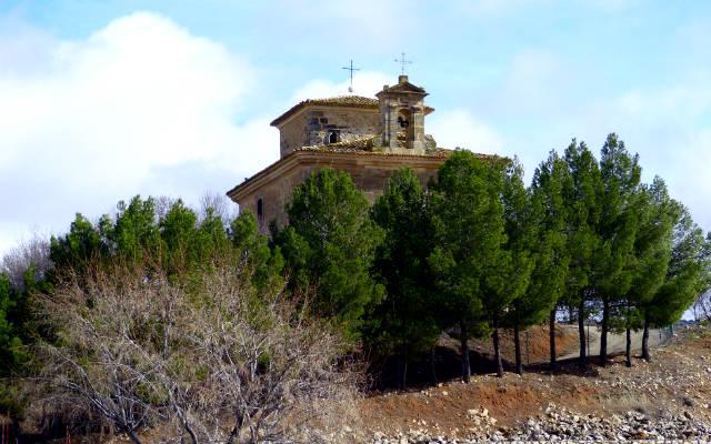 Ermita que da nombre a la Quesería - Destino y Sabor