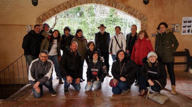Grupo de viajeros de Castilla y León TB