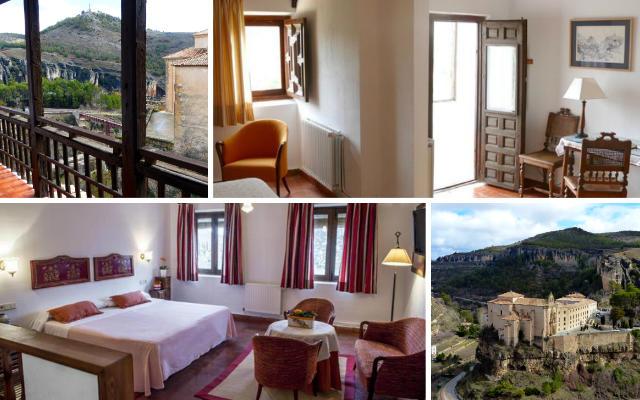 Habitaciones y vistas del Hotel Posada de San José de Cuenca - Destino y Sabor