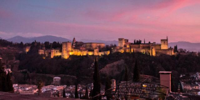 Vista de Granada desde Albaicín - Destino y Sabor