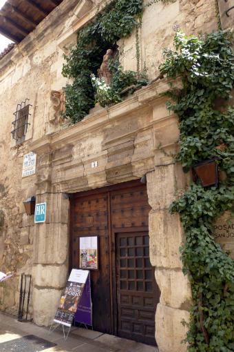 Fachada de la Posada de San José - Destino y Sabor
