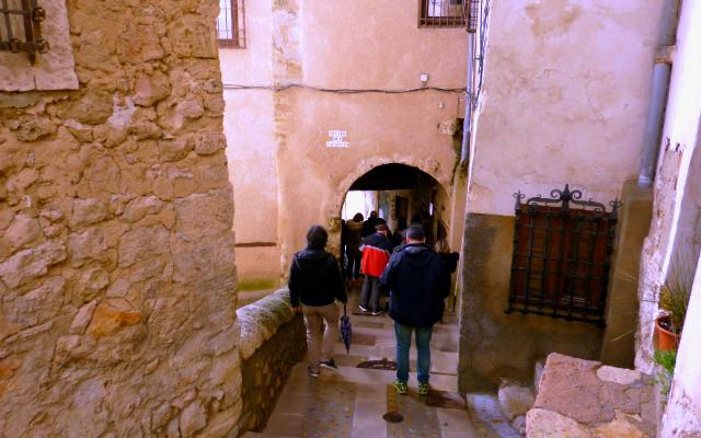 Callejuelas y pasadizos de Cuenca - Destino y Sabor