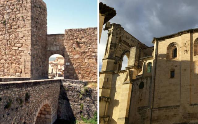 Castillo de Cuenca y lateral de la Catedral de Cuenca - Destino y Sabor
