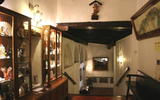 Interior de la Posada de San José