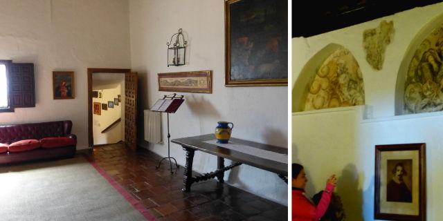 Famosa estancia donde se pudo inspirar Velazquez, junto algunos frescos originales de él y su cuñado - Destino y Sabor