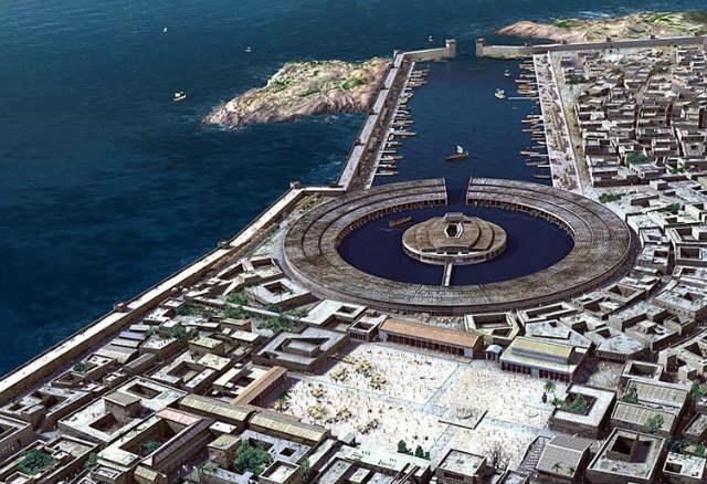 Idealización de la Carthago Púnica - Imagen de traianvsnet