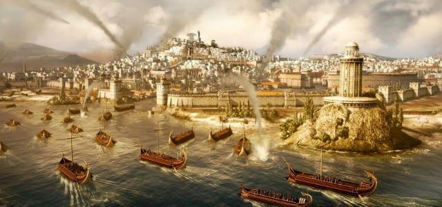 Representación de la caida de Cartago por los Romanos - Imagen de ImperioRomanodeXaviervalderas