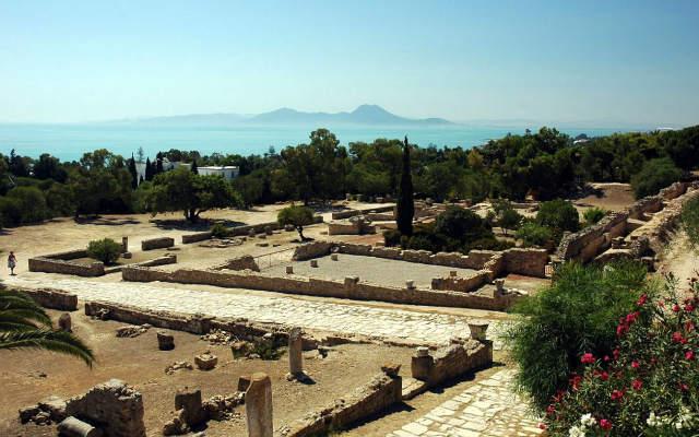 Panorámica de la ciudad romana de Cartago - Imagen de Wikipedia