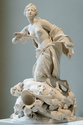 Escultura de la reina Dido de Cartago - Imagen de Wikipedia