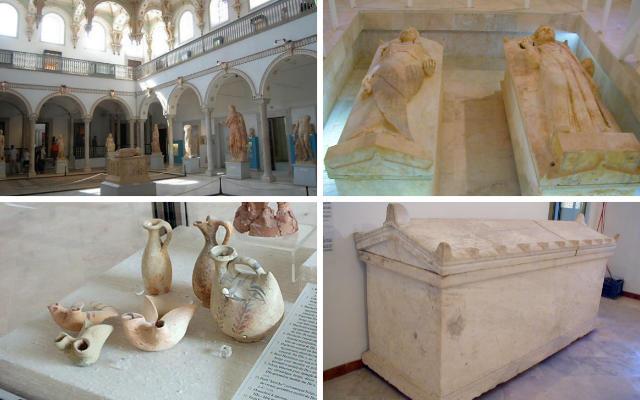 Interior y colecciones del Museo Nacional de Cartago - Destino y Sabor