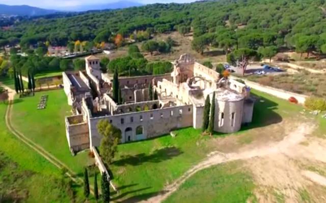 Monasterio de Santa María de Valdeiglesias - Imagen de drone-on
