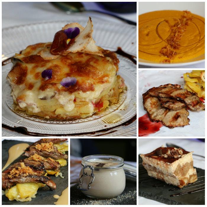 Comer en el restaurante A Velha Fabrica