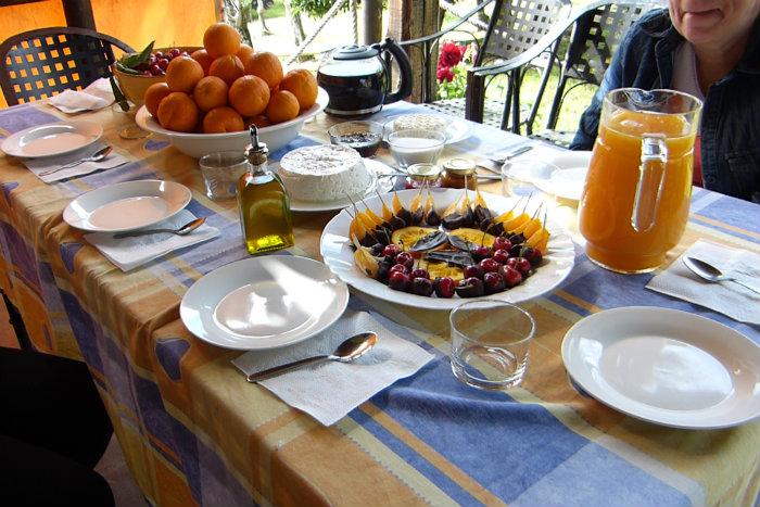 Desayuno Saludable Casa Rural El Pilar en Acebo