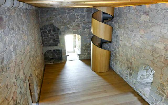 Interior del Castillo de Coracera - Imagen del Castillo