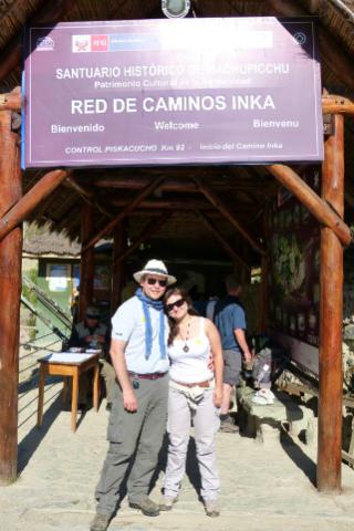 Vamos a entrar en el Camino del Inca - Destino y Sabor