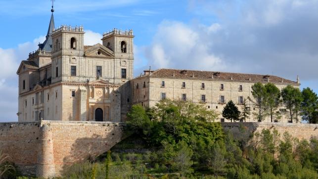 Monasterio de Uclés desde el valle - Imagen de ClM24