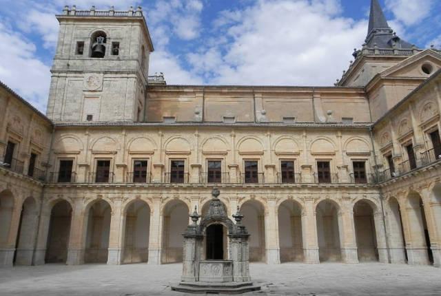 Patio del Monasterio de Uclés - Imagen del monasterio