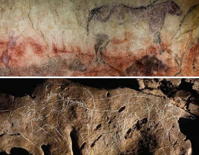 Grabados y pinturas de la Cueva de Tito Bustillo - Destino y Sabor