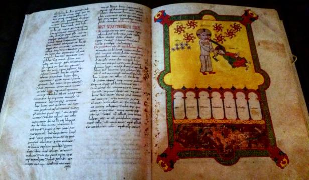 Facsímil del libro del Beato de Liébana – Imagen de CandelaVizcaino