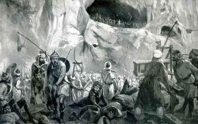 Batalla de Covadonga - Imagen de LNE