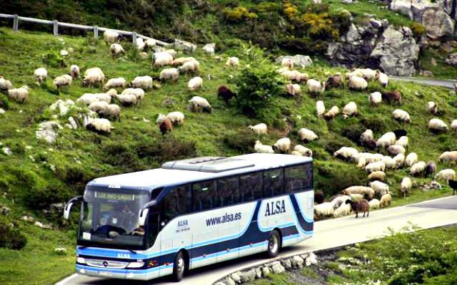 Autobuses a los lagos - Imagen de El Comercio