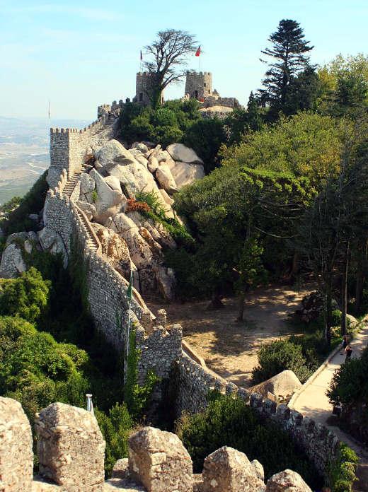 Castelo do Moros - Imagen de Dmitrijs Kuzmins en Wikipedia