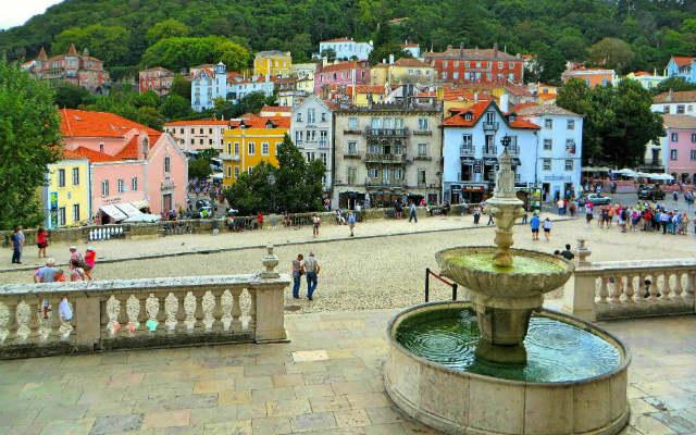 Entorno de Sintra, Ciudad Patrimonio de la Humanidad - Imagen de Lacobrigo en Wikipedia