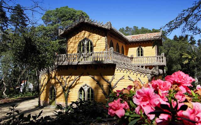 Jardines y Chalet de la Condessa d'Edla - Imagen de Turismo en Portugal